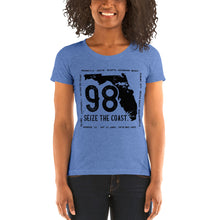 Load image into Gallery viewer, Women's Seize the Coast HWY 98 Tri-Blend T-Shirt