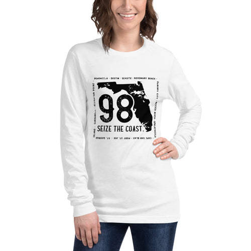 Women's Seize the Coast (98) Long Sleeve Tee