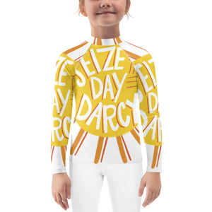 Toddler's Seize the Day Darcy Rash Guard