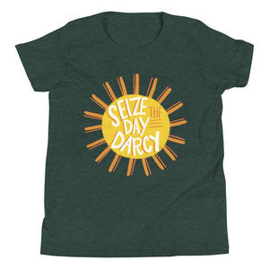 Girl's Seize the Day Darcy T-Shirt (Sunshine)