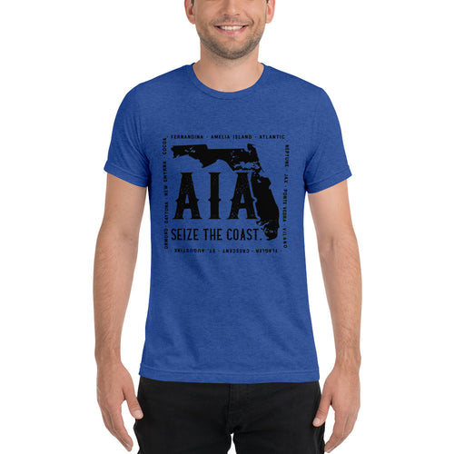 Men's Seize the Coast A1A Tri-Blend T-Shirt