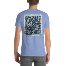 Load image into Gallery viewer, Men's Carpe Diem Gear Stamp (Blues) Short-Sleeve T-Shirt