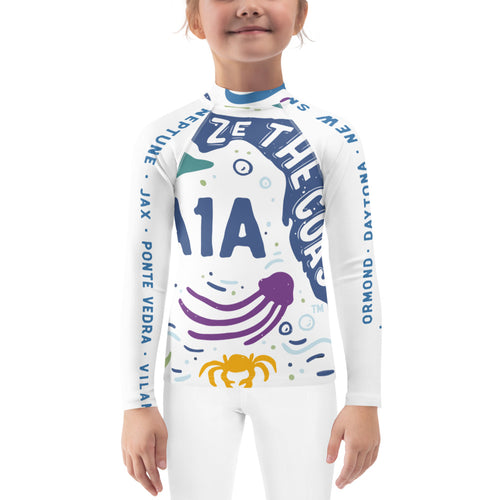 Toddler's Seize the Coast A1A Rash Guard