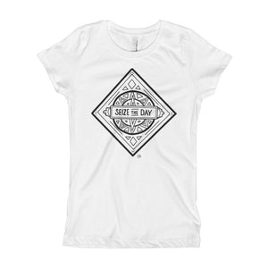 Girl's Seize the Day Diamond T-Shirt