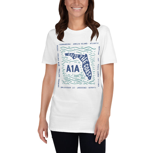 Women's Seize the Coast A1A Blues T-Shirt