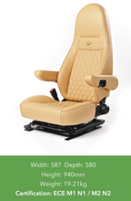 Load image into Gallery viewer, Aguti Milan Seats for Ducato 2007+ - Trimmed - Vinyl