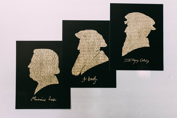 The Reformers Silhouette Art Set