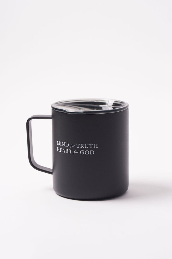 MIND + HEART w/ Shield - Travel Mug
