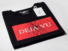 Load image into Gallery viewer, 'Deja Vu' Black Tee