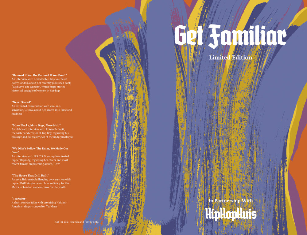 Get Familiar Hip-Hop Magazine Issue 02 Limited Edition Cover