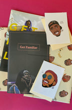 Load image into Gallery viewer, GET FAMILIAR HIP-HOP MAGAZINE GIFT PACK IMAGE-04
