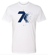 Load image into Gallery viewer, 7k Shatter White T-shirt