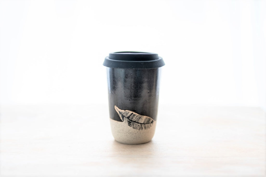 Feather go cup 10oz