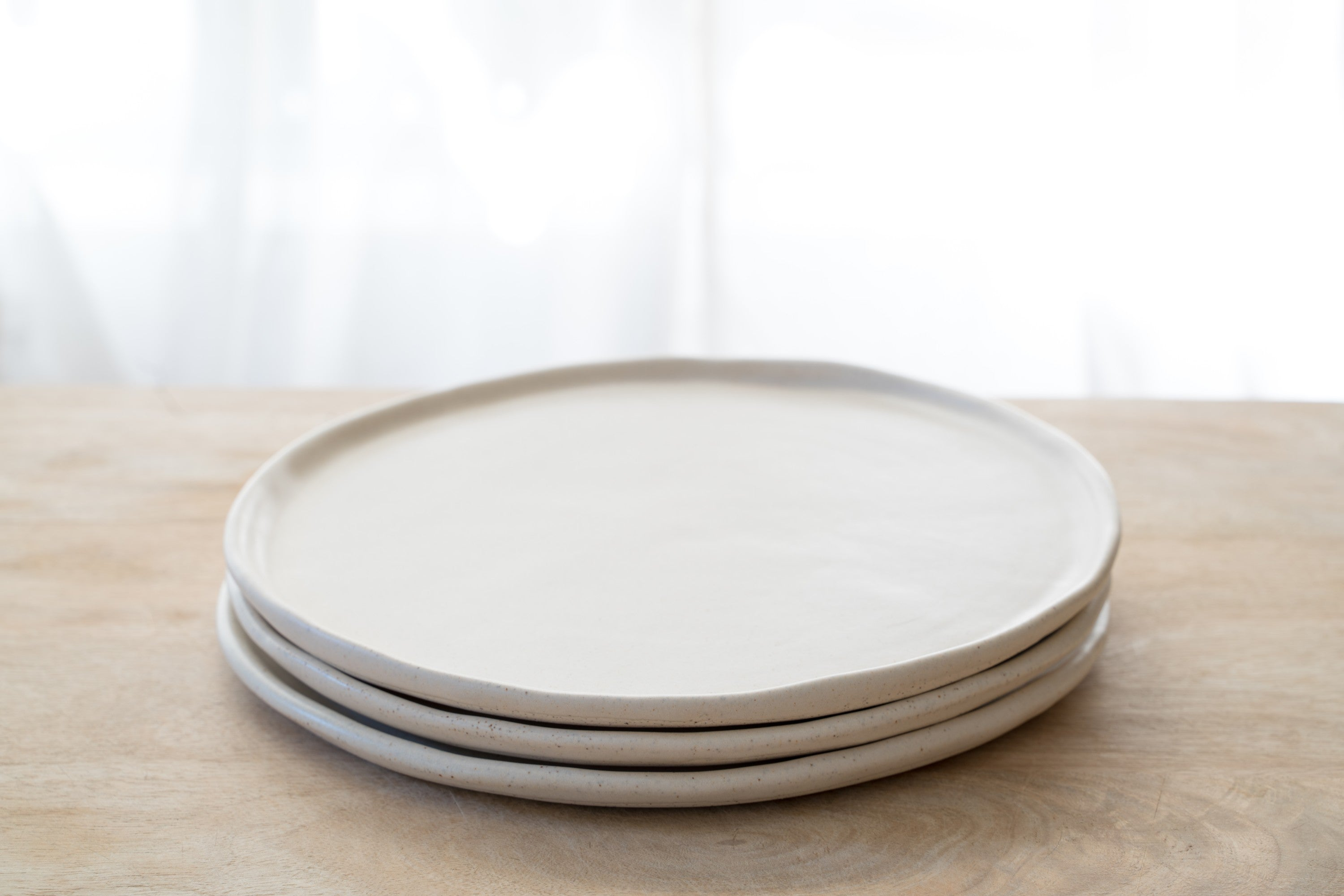 Vanilla cream side plate