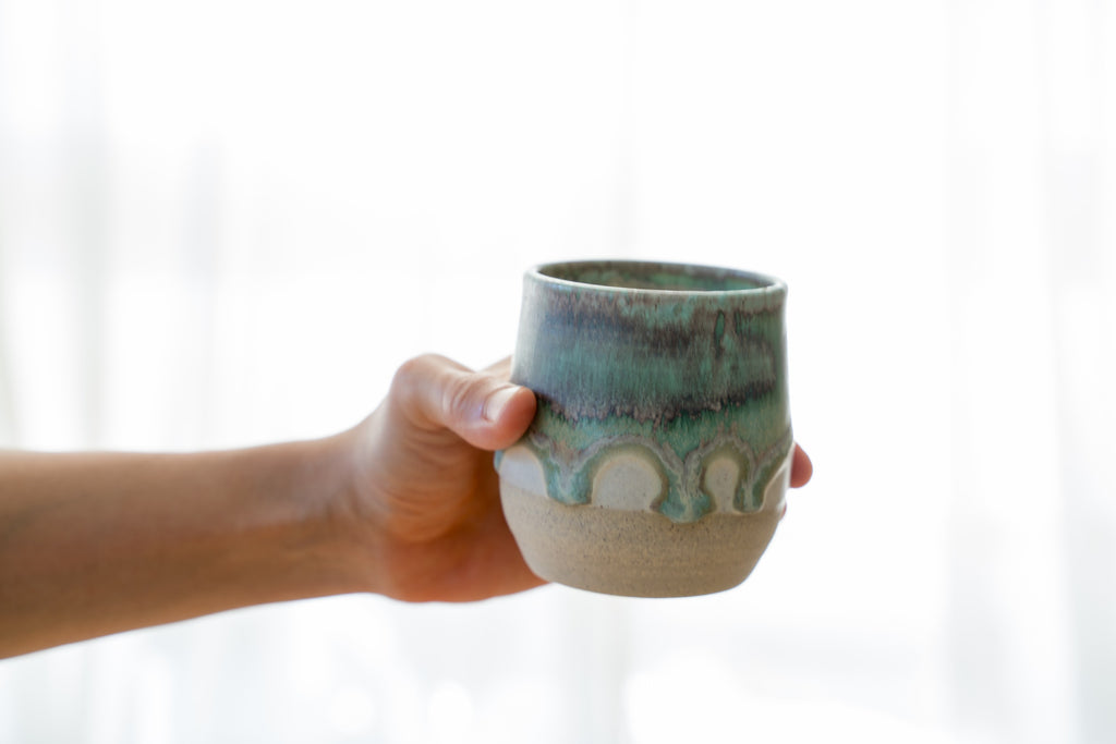 Green lava cup