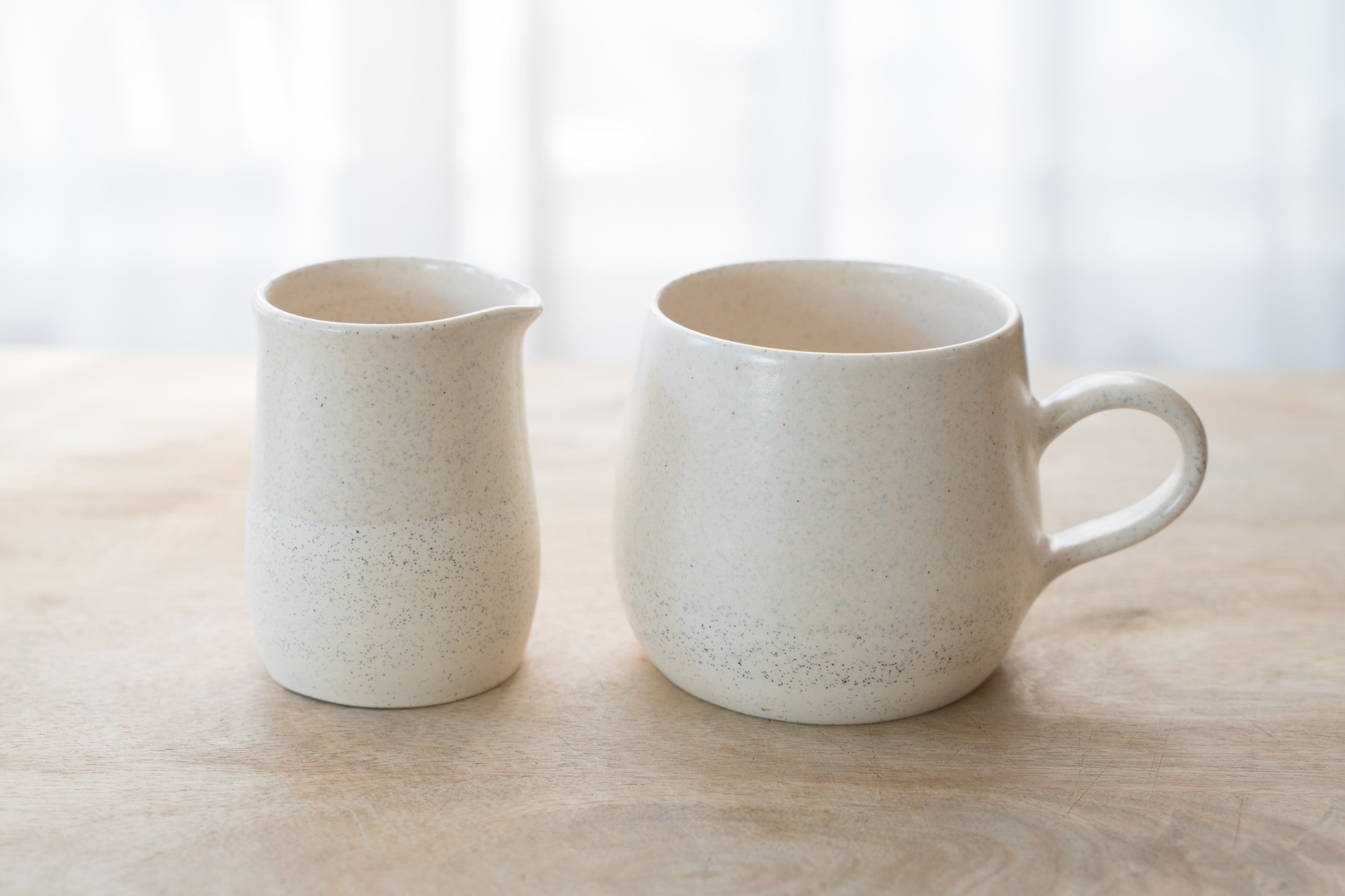 Vanilla cream jug