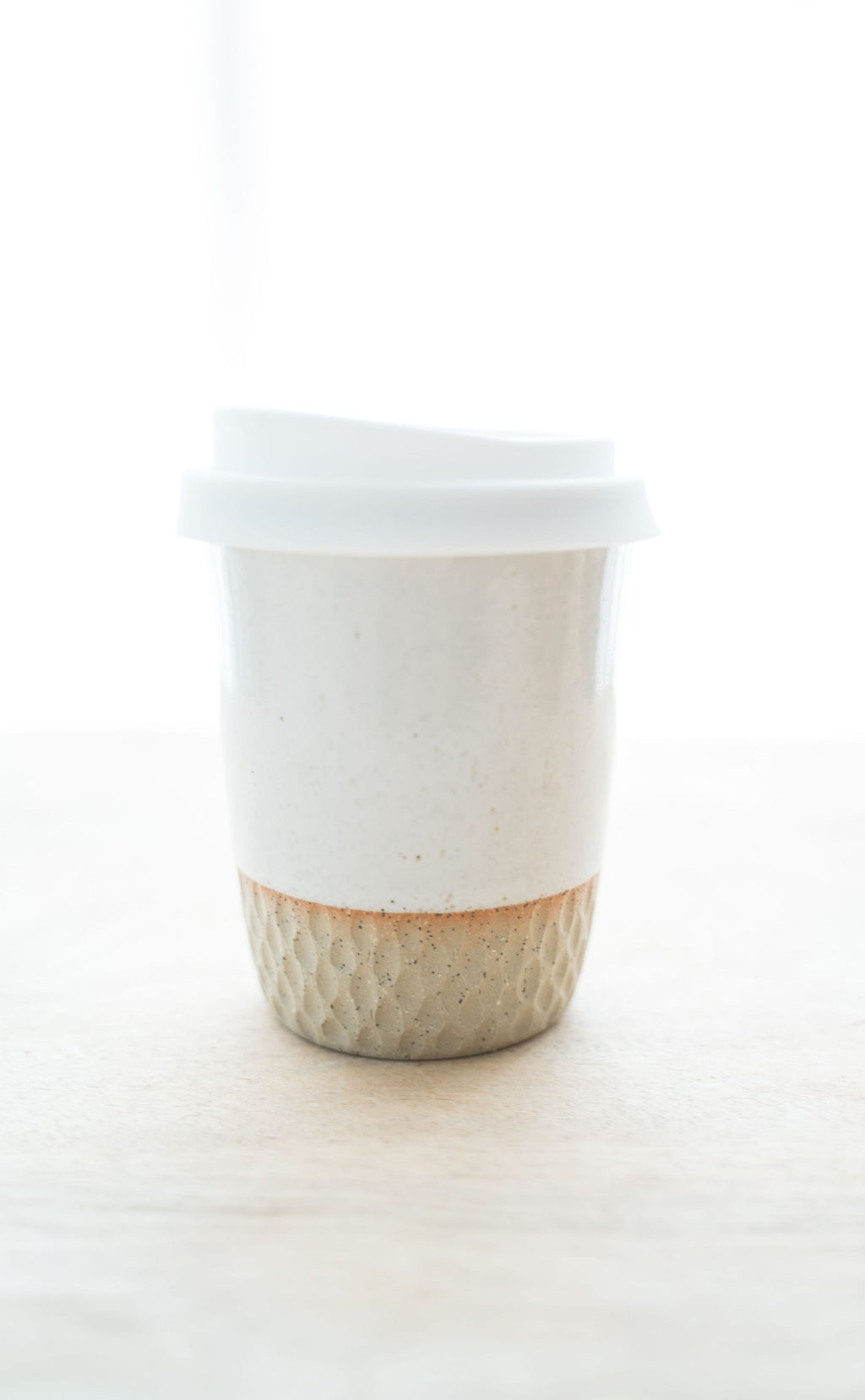 8oz Go cup in natural honeycomb