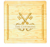 """Monkey Design"" Monogrammed Cutting Board  (Start at $68. Lots of Sizes)"
