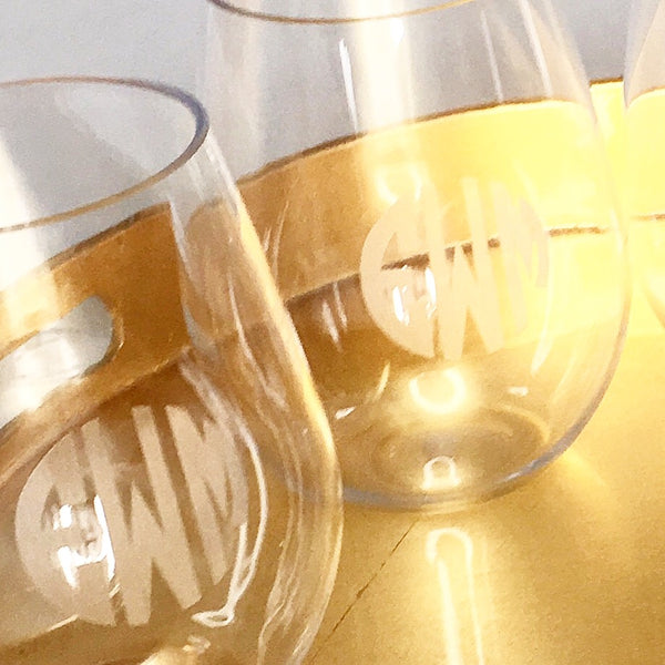 Puraform Acrylic Wine Glasses - Set of 4