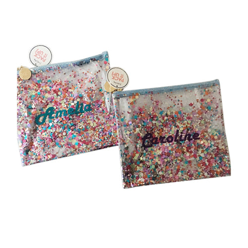 Confetti Everything Pouch Wiggle + Scoot