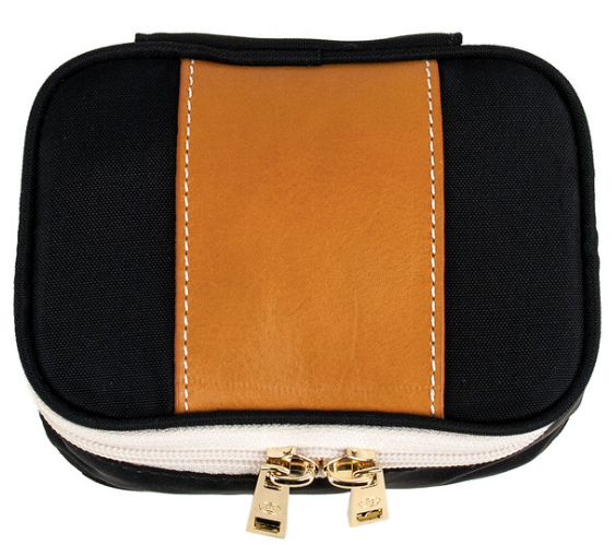 Zoe Mini Jewelry Case by Boulevard Leather