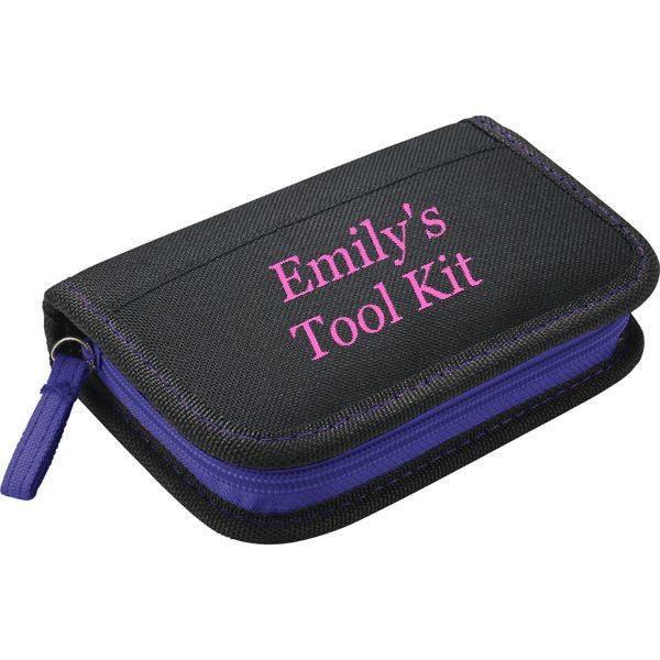 Tool Kit Personalized in Pink