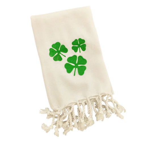 St. Patrick's Day Turkish Hand Towel