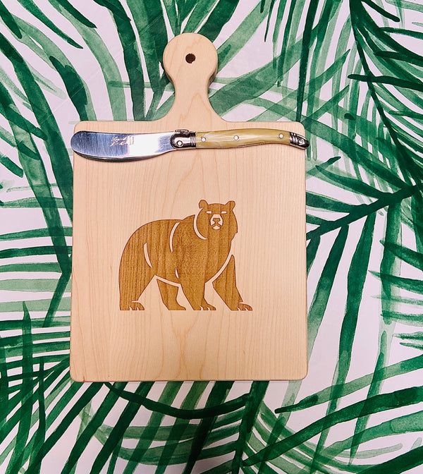 School Mascot Artisan Maple Cutting Board