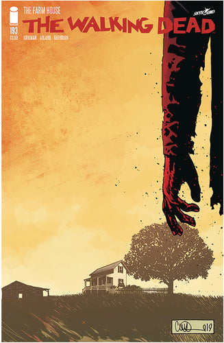 WALKING DEAD #193 (MR) 1st printing last issue