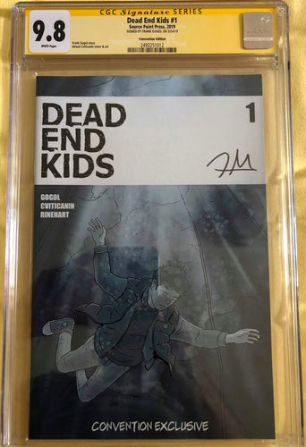 Dead End Kids #1 Convention Exclusive CGC SS 9.8 Ltd. to 25