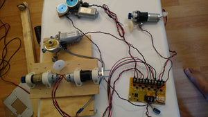Drive Five - 5 DC motors / Servos high power 50Amps each. Serial Commands