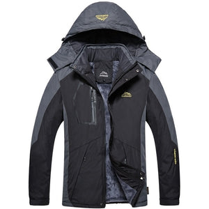 Winter Outdoor Jacket - Waterproof Warm Coats - Thick Velvet Jacket.  Outwear Mountaineering Overcoat