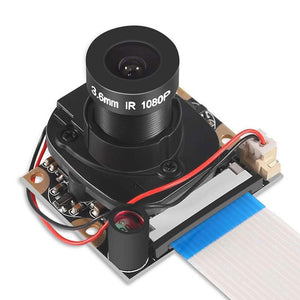 Raspberry Pi Camera Module With Automatic Ir-cut Night Vision Camera 5mp 1080p Hd Webcam