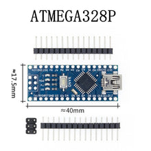 Load image into Gallery viewer, Nano 3.0 controller with bootloader compatible for arduino CH340 - USB driver 16Mhz ATMEGA328P/168P