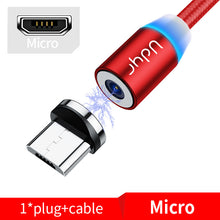 Load image into Gallery viewer, Udyr Fast Charging Mobile Phone USB Cable with Micro, iPhone, and USB-C connectors