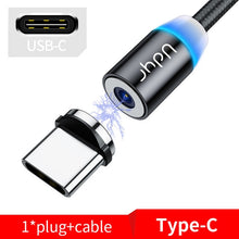 Load image into Gallery viewer, Udyr Fast Charging Mobile Phone USB Cable with Micro, iPhone, and USB-C connectors Fast Shipping