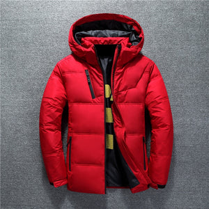 New Winter Jacket High Quality Fashion Casual Coat Hood Thick Warm Waterproof Down Jacket