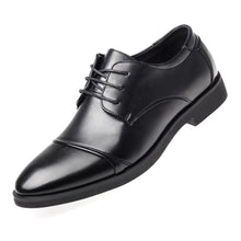 Load image into Gallery viewer, Luxury Business Oxford Leather Shoes - Breathable Rubber Formal Dress Shoes - Office, Wedding.