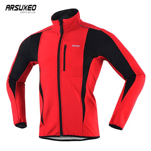 Thermal Mountainbike Road Cycling Jacket - Winter Night Reflective