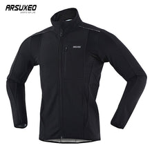 Load image into Gallery viewer, Thermal Mountainbike Road Cycling Jacket - Winter Night Reflective