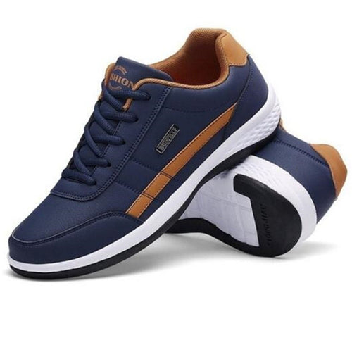 New 2019 Mens Shoes - Sneakers, Man Flats, HQ Casual Shoes, Pu Leather Loafers Shoes