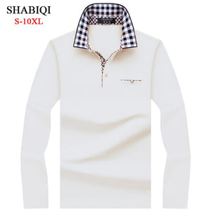 SHABIQI Classic Brand Men's Polo shirt  Long Sleeve.