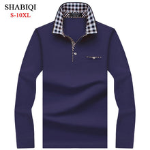 Load image into Gallery viewer, SHABIQI Classic Brand Men's Polo shirt  Long Sleeve.