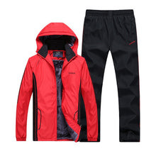 Load image into Gallery viewer, Winter Men's Casual Warm Thick Hooded Jacket+Pants - Inner wool Outwear Tracksuit