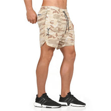 Load image into Gallery viewer, Summer Fitness Bodybuilding Breathable Quick-drying Jogger Shorts.
