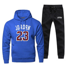 Load image into Gallery viewer, Jordan 23 Basketball - Sports Hoodie with Pants (2 Piece Track Suit) Autumn