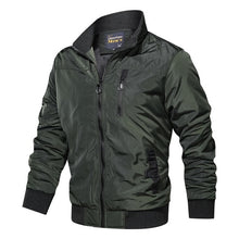 Load image into Gallery viewer, Autumn Winter Military Coats Army Casual Outerwear Bomber Jacket