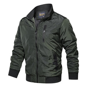 Autumn Winter Military Coats Army Casual Outerwear Bomber Jacket