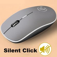 Load image into Gallery viewer, Silent Wireless Mouse - Ergonomic Optical Noiseless USB Mouse For PC Laptop, desktop, and gaming.