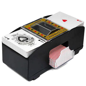 Poker Playing Cards Electric Automatic Shuffler Poker Card Shuffler Playing Shuffling Machine Gift Funny Family Game Party Club